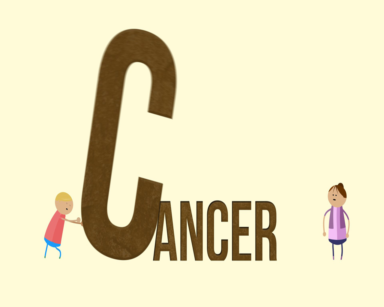 pic of the word cancer