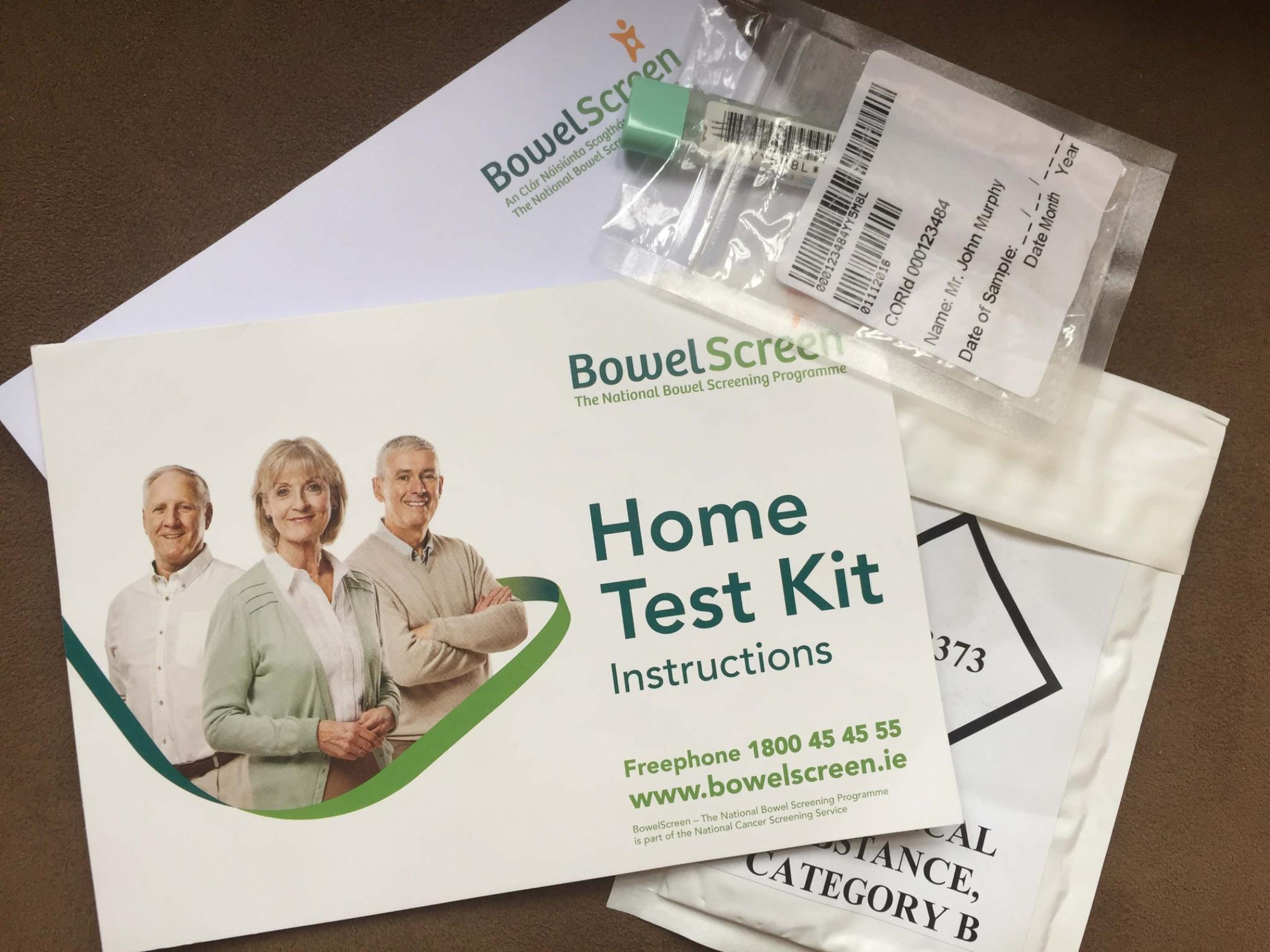 pic of a home testing kit