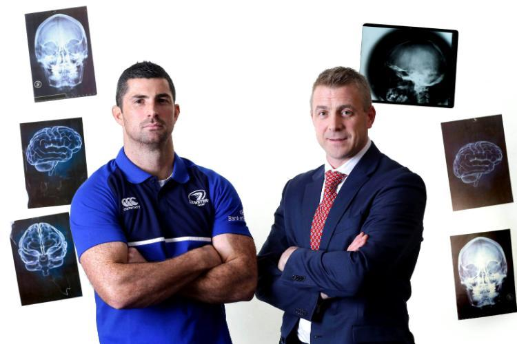 Pic of DO MD and Rob Kearney