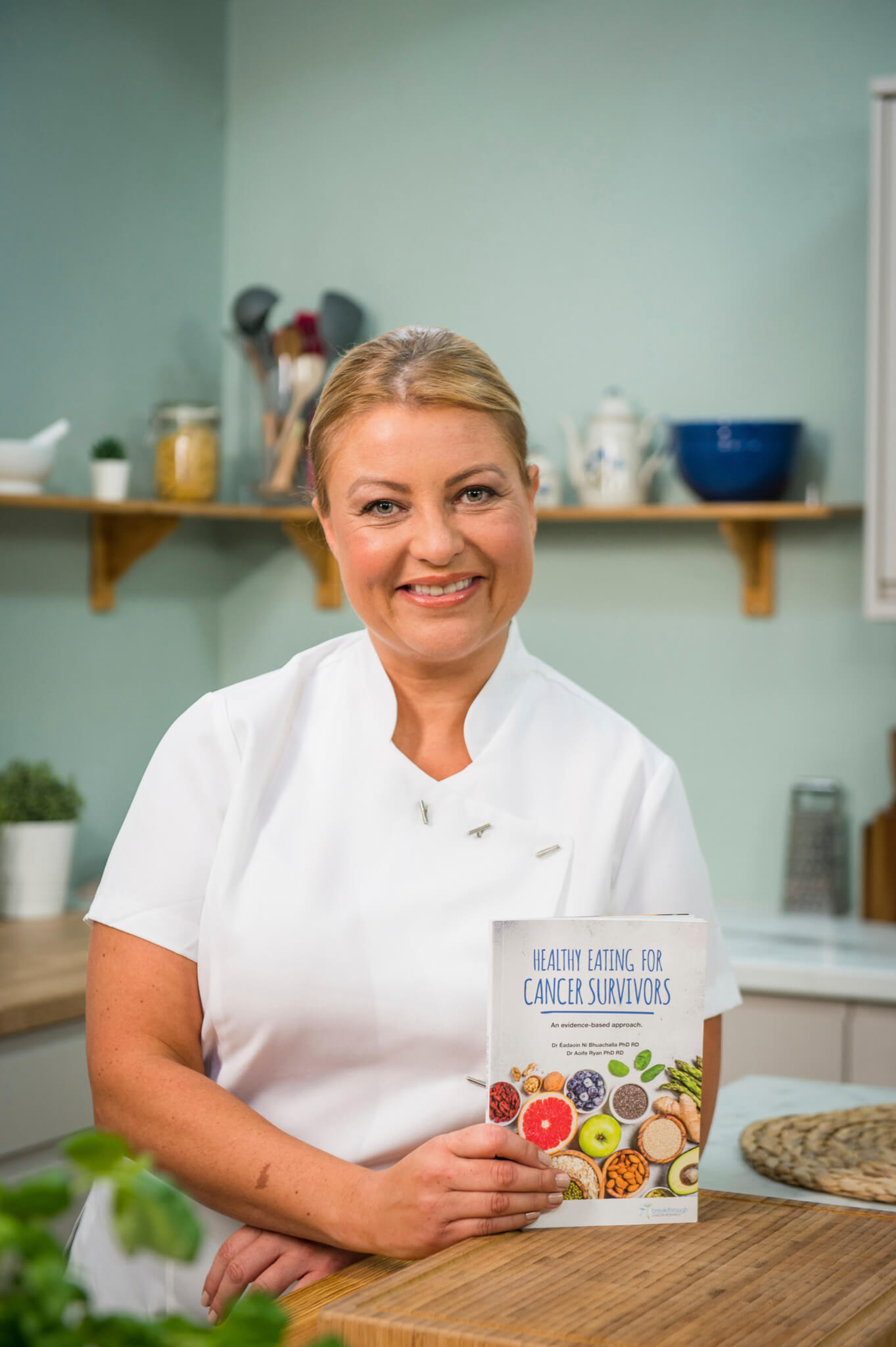 pic of chef and author Rozanne Stevens