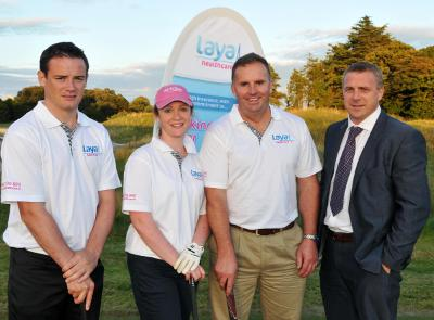 Our team at the Cork Chamber Golf Classic 2013