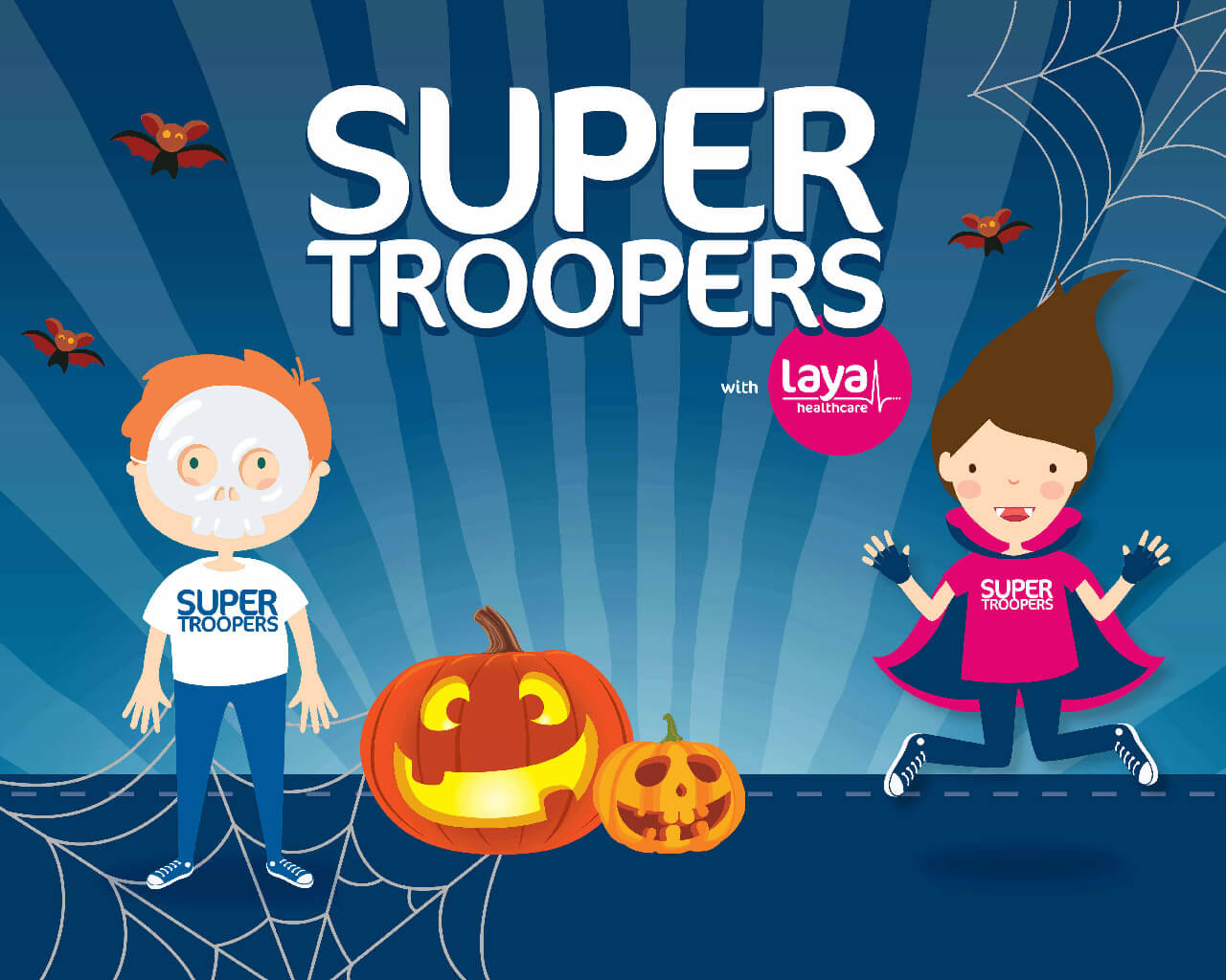 Super Troopers with laya healthcare | Halloween Healthy Treats